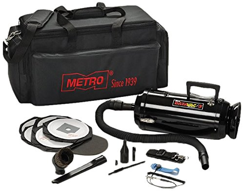 Metro Vacuum DV3ESD1 DataVac/3 ESD Anti-Static 1.7-HP Vacuum/Blower with Hepa Filter, Black