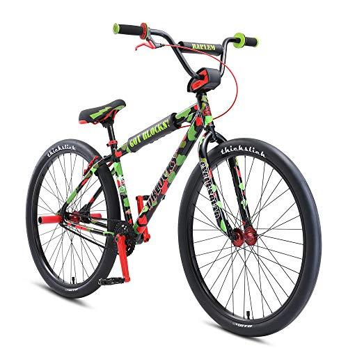 SE Bikes 2021 DBlocks Big Ripper 29 Inch Complete Bike Green Camo