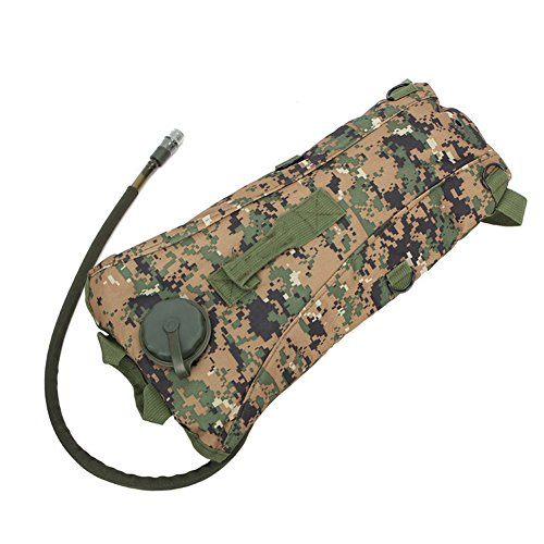 SaySure - Outdoors 3L Hydration System Water Drink Bag Pouch Backpack Bladder ACU Camouflage - GMN-BG-SPT-000140