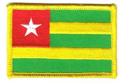 Flaggen Aufnäher Patch Togo Fahne Flagge NEU