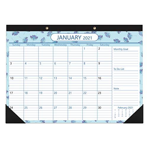 TOYANDONA 2021-2022 Calendario de Escritorio Grandes Páginas Mensuales Calendario de Pared Planificador...