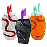 Best Sippy Cup For Kids - Krazy Straws Spooky Juice Box Sippers 12oz | Review