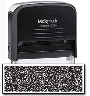 MaxMark Identity Theft Protection Stamp - Large Side with an Additional Replacement Pad