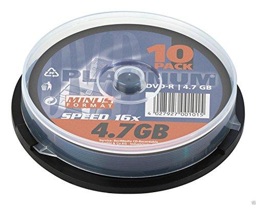 Platinum DVD-R 4,7GB 16x 10er CB 102569