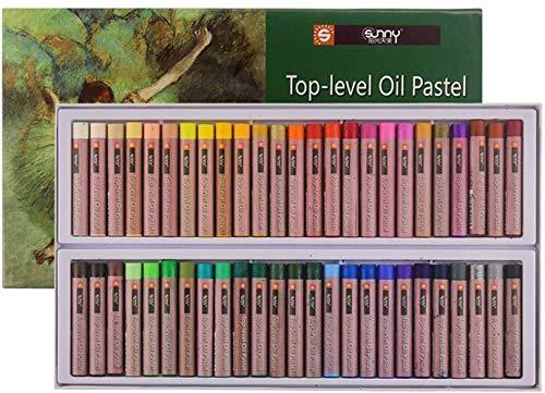 Wachsmalstift 36 Ölig Buntstift Kinder Öl Pastellkreide Set Ungiftig Pastell Ölkreiden Dick Weichpastell Wasserfarbe Malstift Malen Zeichnen Wachsmalkreide Professionell Farbstift für Künstler Maler