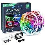 Phopollo LED Lights 32 FT RGB Led Strip Lights for Bedroom Color Changing 300...