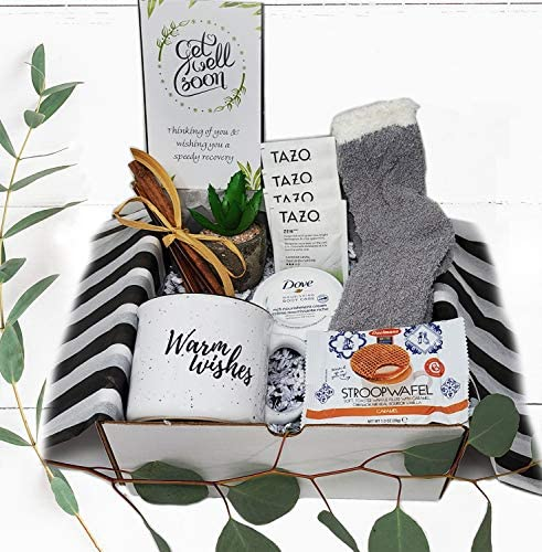 Get well soon gift for women Care Package gift basket for after surgery recovery cancer Covid product image