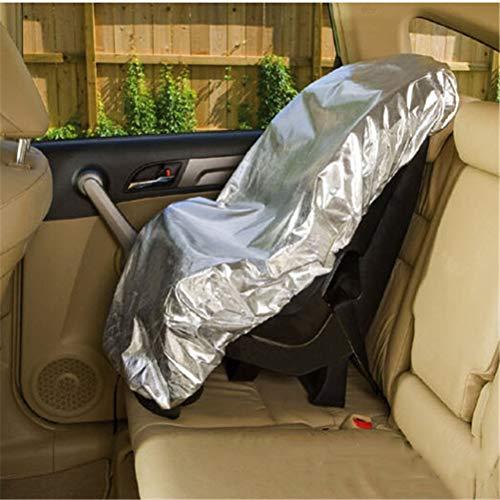 Dbtxwd Parasol Housse de siège Auto Anti-poussière Soleil Chaleur Rayons UV Protection Anti-poussière Couvercle Protection,2pcs