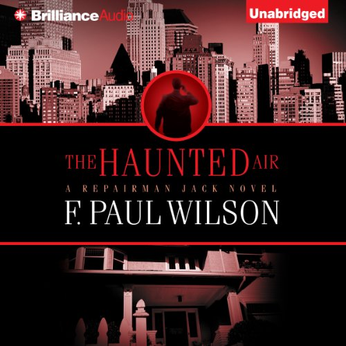 The Haunted Air audiobook cover art