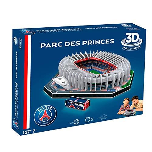 Megableu- Puzzle 3D con Parco delle Principesse PSG, 678263
