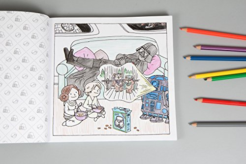 Darth Vader and Family Coloring Book: (Star Wars Book, Coloring Book for Everyone)