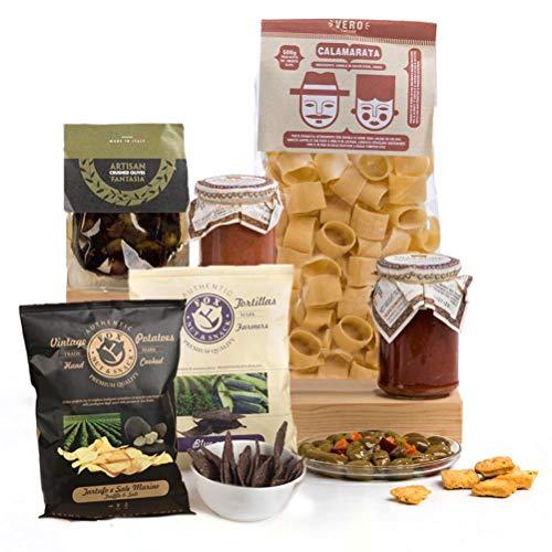 Ciao Ciao! Italian Pasta & Sicilian Sauces Food Hamper Gift Box
