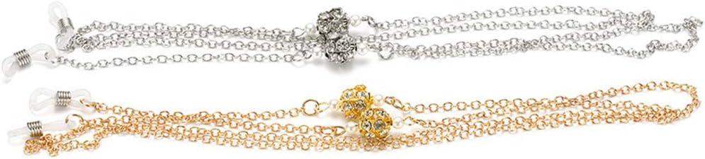 wufeng Cristal Lunettes de Lecture Cha/îne Cha/înes CHA/ÎNETTES Femmes Cordons Lunettes de Soleil Lunettes de Soleil Filles Holder Bracelet Lani/ères