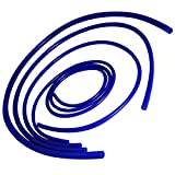 Upgr8 Universal 4mm/6mm/8mm/12mm Inner Diameter High Performance Silicone Vacuum Hose Kit (Blue)