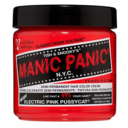 MANIC PANIC Electric Pink Pussycat Hair Dye