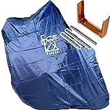 R250(アールニーゴーマル) 超軽量縦型輪行袋 ネイビー エンド金具・フレームカバー・スプロケットカバー・輪行マニュアル付属