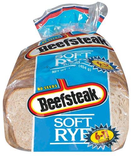Beefsteak Soft Rye Loaf Bread 18 oz.