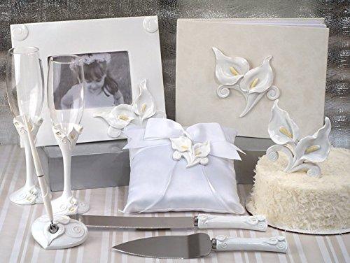 Deluxe 7 PC Classic Calla Lily Set Wedding Set