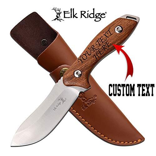 Personalized ELK Ridge Fixed Blade...
