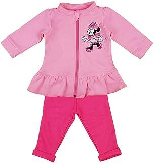 Pinker Jogginganzug mit R/üsche Minnie Mouse Disney