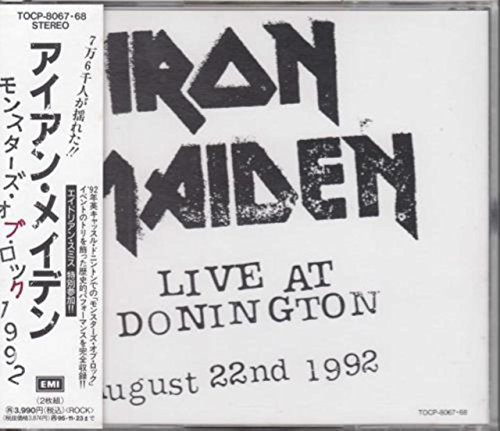 Live at Donnington 1992 (Japan