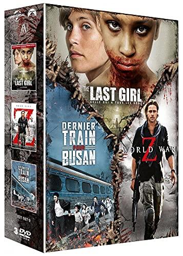 Coffret : The Last Girl-Celle Qui a Tous Les Dons + World War Z + Dernier Train pour Busan