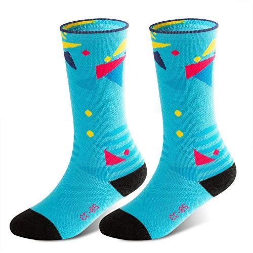 Kids Ski Socks Winter Snow Socks Warm Soft Comfortable and Breathable, Skiing Snowboarding Winter Sports for Toddler Boys Girls -M