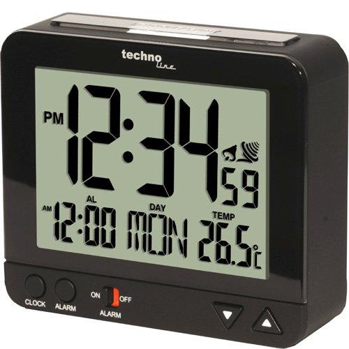 TECHNOLINE Funkwecker WT 195 mit Innentemperaturanzeige und Nachtlich