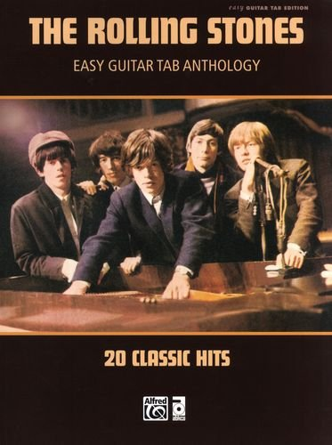 EASY GUITAR TAB ANTHOLOGY - gearrangeerd voor gitaar - met tabulator [Noten/Sheetmusic] Component: ROLLING STONES