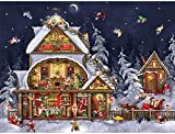 Santa's House is a 300 piece jigsaw puzzle designed by Tuula Burger. Our Jigsaw Puzzles are made with recycled cardboard. Larger than usual die-cut puzzle pieces are easy to handle - and no two are alike. Our 300 Piece Puzzles are still exciting and ...