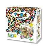PlayMais WINDOW Frühling/Sommer Fensterbilder-Set für Kinder ab 3 Jahren I Motorik-Spielzeug mit mehr als 2300 PlayMais in Mosaikgröße I Natürliches Spielzeug I Fördert Kreativität & Feinmotorik