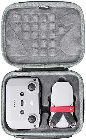 Fenmic Estuche//Maleta de Almacenamiento Impermeable para dji Mavic Mini 2 Drone Silver