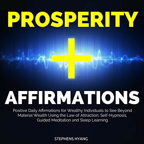 Prosperity Affirmations audiobook cover art