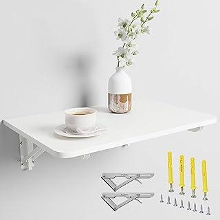 KDDEON Table Murale Rabattable en Bois,Bureau pour Enfants,Bureau D'ordinateur,Table de Salle À Manger de Cuisine Multifon...