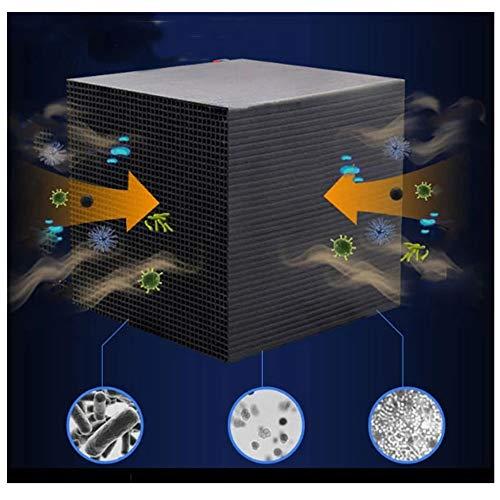 Multifunktionswasserreiniger, Eco-Aquarium Wasserfilter Cube Aquarium New Filtration Material Schnelle Wasseraufbereitung Aquarium Filter für Aquarium, Teiche (Schwarz)