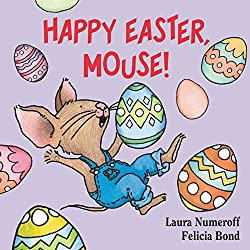 Easter books, happy easter mouse book