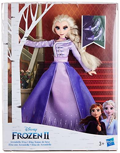 Disney Die Eiskönigin ELSA aus Arendelle Deluxe Modepuppe mit Outfit im Ombré-Lo...