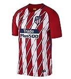 Nike 2017/18 Atlético de Madrid Stadium Home Camiseta de Manga Corta, Hombre, Rojo (Sport Red/White/Deep Royal Blue), M