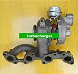 GOWE Turbocompresor para GT1749V 756062–0003/2/103G253019HX 03G253014J Turbo turbocompresor para Volkswagen Golf V 2.0Tdi 2003–2009año 140HP BKD
