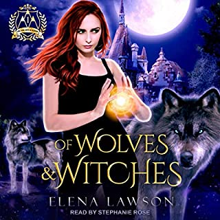 Of Wolves & Witches audiobook cover art
