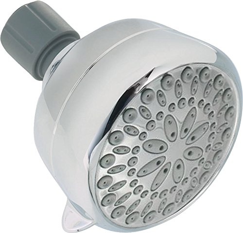 Great Features Of Delta Faucet 6-Spray Touch-Clean Shower Head, Chrome 75551