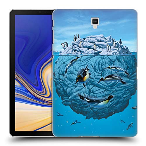 Official Vincent Hie Penguin Wink Nature Smile Hard Back Case Compatible for Galaxy Tab S4 10.5 (2018)