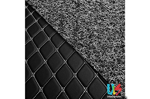 Urbanlifestylers 7D Economy Custom Fitted Car Mats Compatible with Audi Q5 - Black