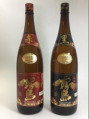 【父の日】赤霧島1.8L&黒霧島1.8L 2本飲みくらべセット
