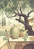 Fertig-Bild - Franz Heigl: Raccolta delle Olive 50 x 70 cm -