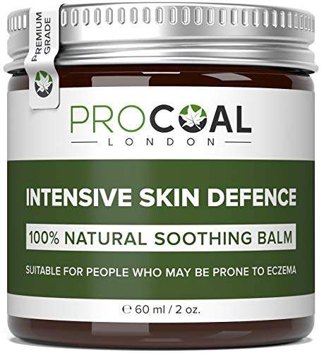 Eczema Cream, 100% Natural & Vegan Intensive Skin Defence Balm 60ml by Procoal – For Children and Adults Prone to Eczema, Psoriasis and Dermatitis, Made in UK