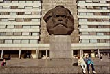580061 Statue Of Karl Marx Chemnitz Saxony A4 Photo Poster
