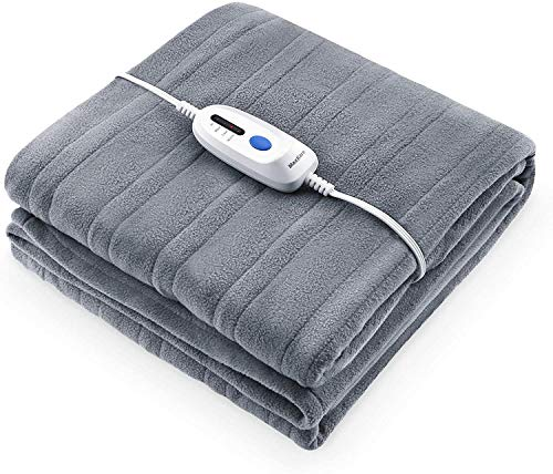 Polar Fleece Electric Heated Blanket Twin Size 62'' x 84''...