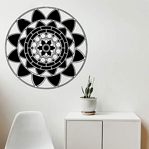 Klassische Mandala Mandala Wandaufkleber Wohnkultur Wandtattoo Kunst Aufkleber Wohnkultur Aufkleber A4 42x42cm