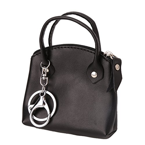 Simplelife Coin & Card Retro Zip Rond portemonnee portemonnee Coin Bag Pouch Case Sleutelzakhouder voor Vrouwen Dames